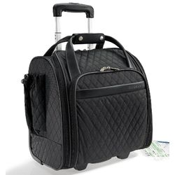 Women's Rolling Organizer Carry-on Luggage