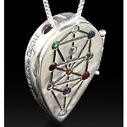 Tree of Life Kabbalah Necklace