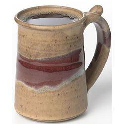 Handmade Mocha Red River Mug