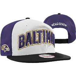 Baltimore Ravens 2 Tone 2012 Draft Snapback Hat