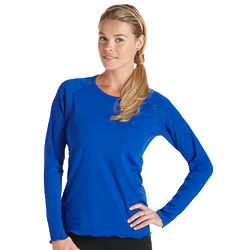 Women's Long Sleeve Paddle UPF Swim Shirt