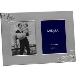 Love Story Silver Invitation and Photo Frame