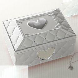 Personalized Lenox Ballerina Musical Jewelry Box