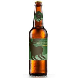 Mighty Moose Personalized Beer Label