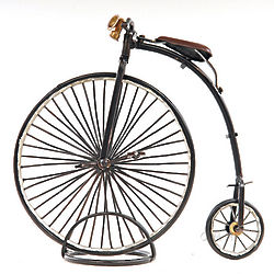 1870 Penny Farthing High Wheeler Model