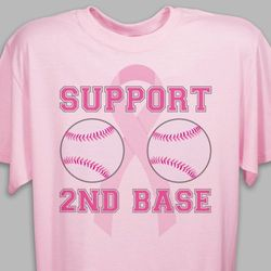 Support Second Base Cotton T-Shirt