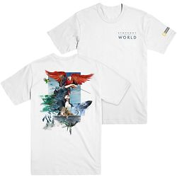 National Geographic Symphony for Our World White T-Shirt
