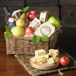 Epicurean Fruit Gourmet Gift Basket