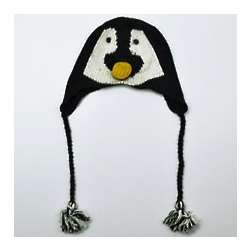 Penguin Knit Hat