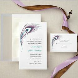 Peacock Passion Wedding Invitations