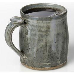 Handmade Cerulean Blue Mug