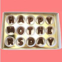 Happy Mother's Day Large Alphabet Milk Chocolate Gift Box