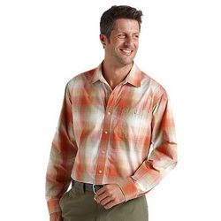 Men's UPF Summerweight Plaid Shirt