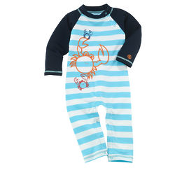 UPF50+ Infant Boy's Beach Romper