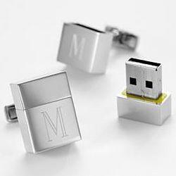 USB Flash Drive Cuff Links