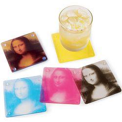 Mona Lisa CMYK Coasters Set