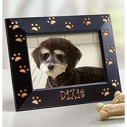 Personalized Paw Print Pet Frame
