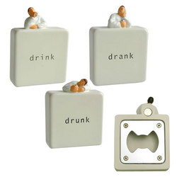 Drunkard Magnet & Bottle Openers