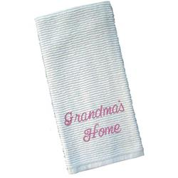 Monogrammed Cotton Kitchen Tea Towel