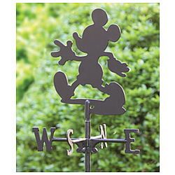 Disney 169 Mickey Mouse Garden Stake Weather Vane Findgift Com