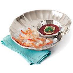 Small Seashell Shrimp Dish
