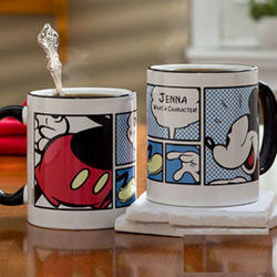 Personalized Mickey Mouse Coffee Mug
