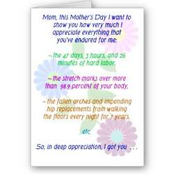 For All You Endured Happy Mother's Day Card