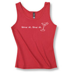 Women's Love It Live It Tank Top