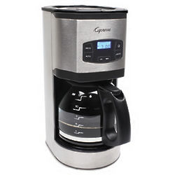 Stainless Steel Glass Carafe Coffee Maker