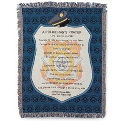 Policeman's Prayer Blanket