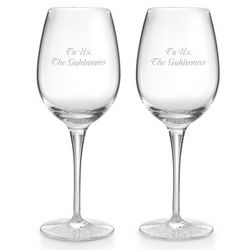 Waterford Clear Light Red Wine Glasses