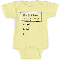 Baby's Birds and Bees Bodysuit