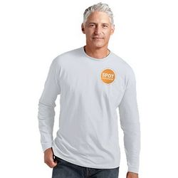 Men's UPF Skin Cancer Awareness Spot Longsleeve T-Shirt
