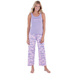 Lavender Fatigued Pajamas for Women