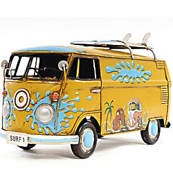 Handcrafted Volkswagon Model Bus