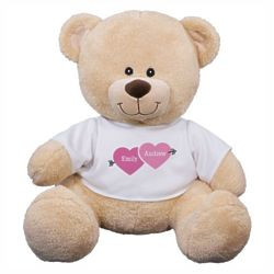 Love Arrow Personalized Teddy Bear
