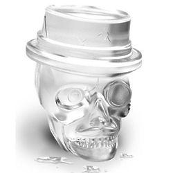 3 Skull Ice Molds