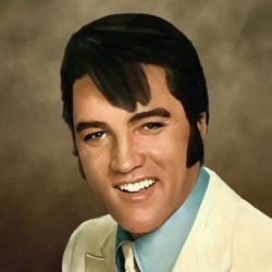 Elvis Presley Oil Painting Giclee