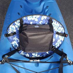 Tall Back Hawaiian Molded Foam Kayak Seat