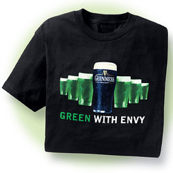 Men's Guinness 'Green with Envy' T-Shirt