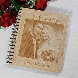 Personalized Wedding Photo Album