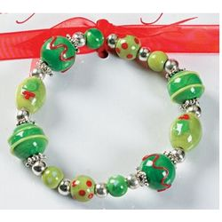 Legend Of The Christmas Wreath Bracelet