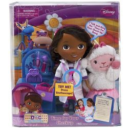 Doc McStuffins Time For Your Check Up Doc and Lambie Dolls