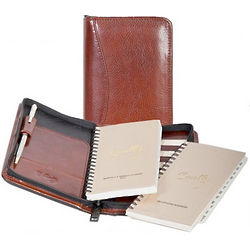 Italian Leather Pocket Planner