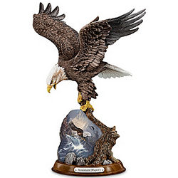 Mountain Majesty Eagle Sculpture