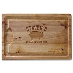 Personalized BBQ Carving Board