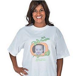 Li'l Pumpkin Adult Large Custom Photo T-Shirt
