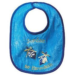 Personalized Baby's First Hanukkah Bib