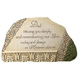 Father Indoor or Outdoor Sympathy Stone