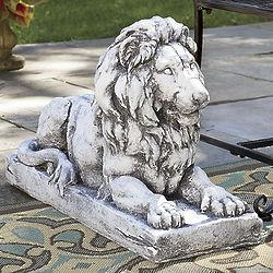 Lion in Repose Statue
